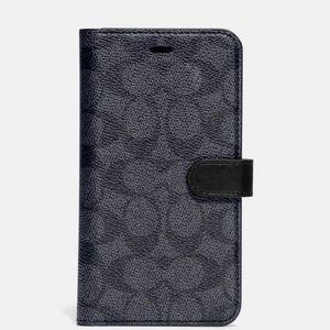 iphone 11 coach phone case wallet